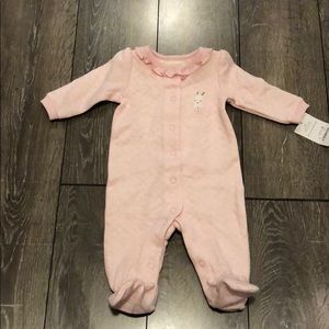 Carters Baby Girl Footie Outfit